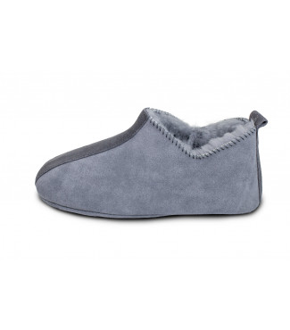 Heitmann Lammfell-Slipper Anthrazit