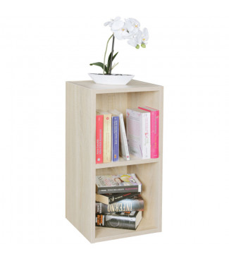 WOHNLING Standregal Holz 30x60x30 cm Modern Sonoma Regal Klein Home €30.31Wohnling -20%Home €37.89